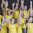 Kinder und Jugendliche von KISI Vorarlberg bei der Probe eines Musicals.
