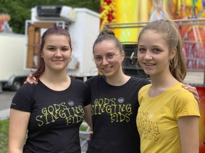 Jugendliche vom Jugendchor von KISI Vorarlberg