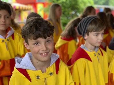 Junge vom Kinderchor von KISI Vorarlberg